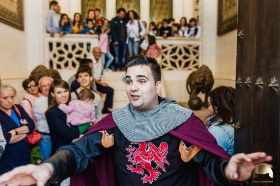 Visita guiada al castillo de almodovar con el mayordomo del rey