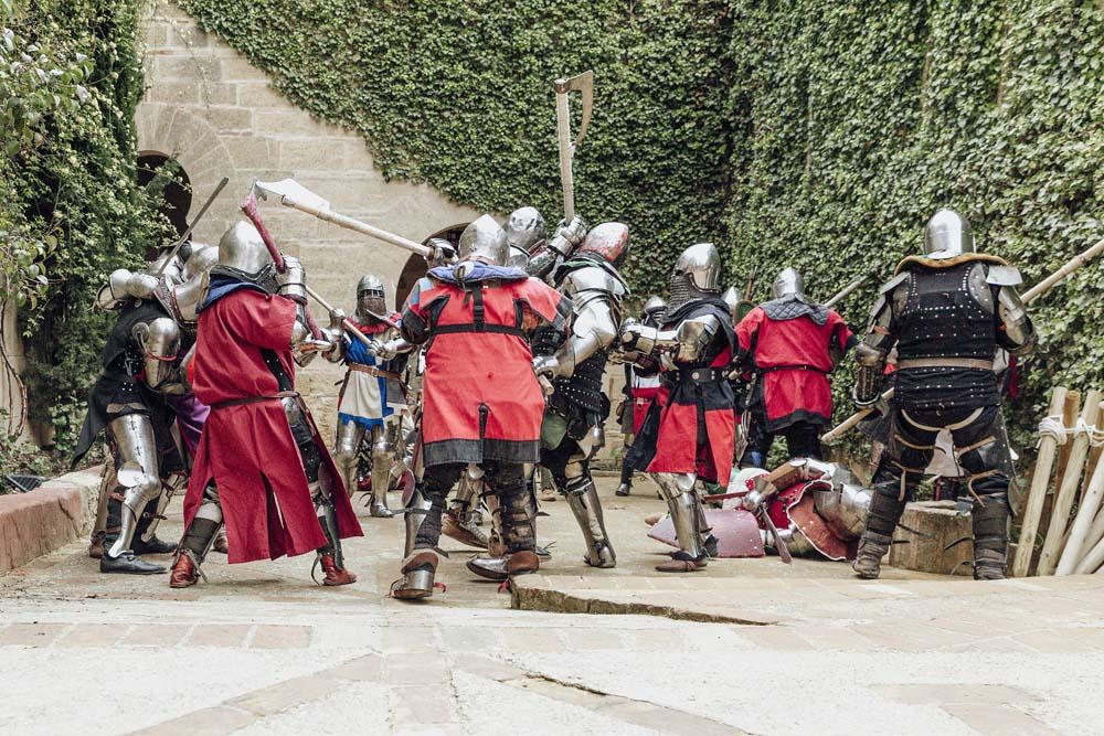 Entrenamiento Medieval Casillo de Almodóvar - Castillo de Almodóvar
