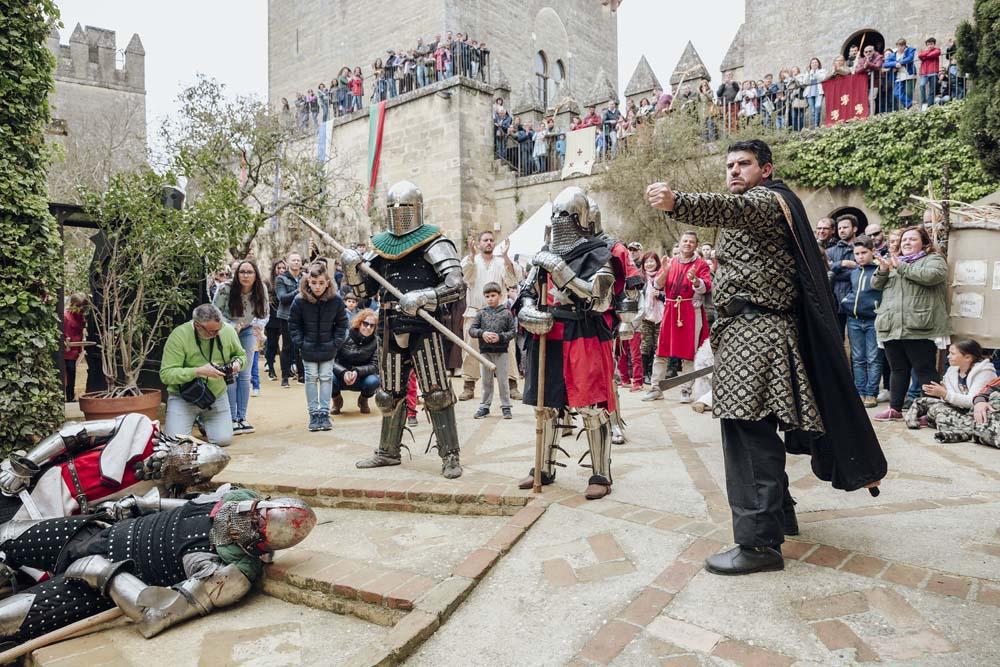 Espectáculo en las Jornadas Medievales en Almodóvar - Castillo de Almodóvar