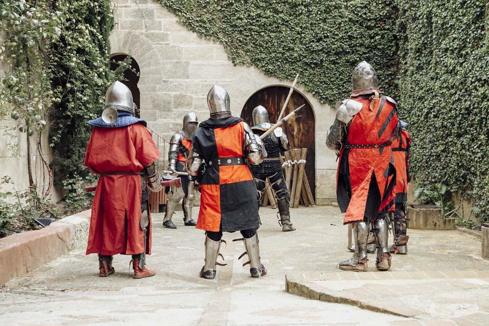 Lucha y entrenamiento medieval en Córdoba - Castillo de Almodóvar